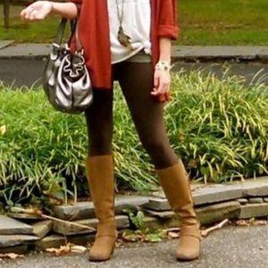 ❗️Nordstrom Chocolate Brown Fleece Leggings NWT